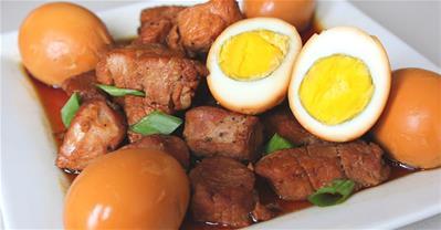 Học cách làm thịt kho trứng đơn giản mà đưa cơm