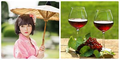 Học ngay bí quyết tắm trắng bằng rượu của phụ nữ Nhật