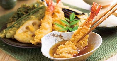 Học người Nhật làm Tempura giòn tan ăn hoài không ngán