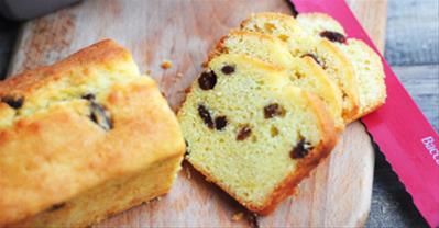 Hướng dẫn cách làm bánh bông lan nho khô cực thơm ngon