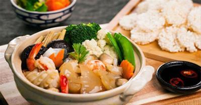 Hướng dẫn làm món đậu hũ hải sản tay cầm ngon xuýt xoa