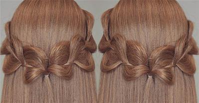 Hướng dẫn tết tóc cánh bướm và sóng biển đơn giản trong 3 phút