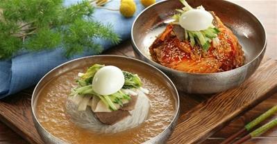 Khám phá các loại mì lạnh đặc trưng của Hàn Quốc
