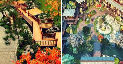 """""""Khu vườn Nhật Bản"""" đẹp như tranh giữa Hà thành"""