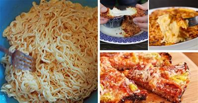 Làm 4 món Âu ngon đúng điệu chỉ với… 1 gói mỳ tôm!