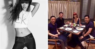 Mẹo ăn buffet tẹt ga không sợ béo của siêu mẫu Hà Anh