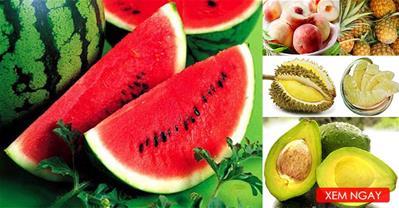 Mẹo chọn hoa quả tươi ngon ngọt, đảm bảo an toàn