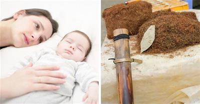 Mẹo giúp phụ nữ sau sinh xì hơi nhanh bằng thuốc lào