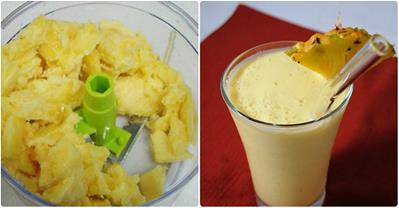 Mẹo làm săn vòng 1 sau sinh với nước dứa ép sữa chua