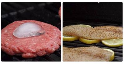 Mẹo nướng thịt bò, nướng cá không dính vỉ đơn giản