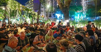 Nếu muốn tránh nóng Sài Gòn bạn nên tới Barbecue Garden