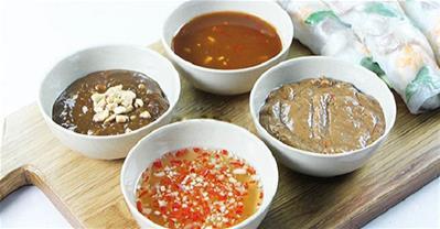 Nước chấm – Linh hồn của món ăn Việt và món cuốn Việt