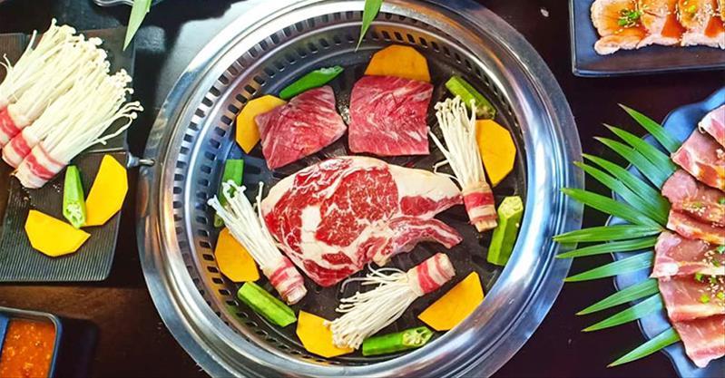 Nướng tẹt ga, nhúng thỏa thích với buffet nướng lẩu tại Seoul BBQ