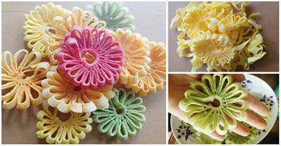 Phát cuồng với món mứt dừa hình hoa cúc của 9x Hà Tĩnh