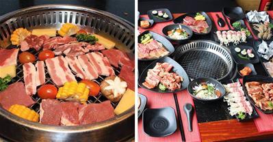 Review nhà hàng buffet lẩu nướng Hot N Tasty