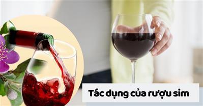 Rượu sim có tác dụng gì mà bà vợ nào cũng ủ sẵn vài hũ trong nhà?