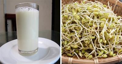 Sữa mầm đậu nành chữa khô hạn cho phụ nữ sau 2 ngày