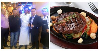 Suất Buffet steak của siêu đầu bếp Mỹ với giá chỉ 159K