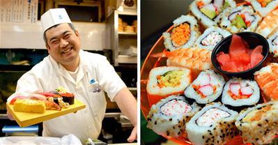 Sushi Nhật Bản đầu bếp nam làm thì mới ngon được