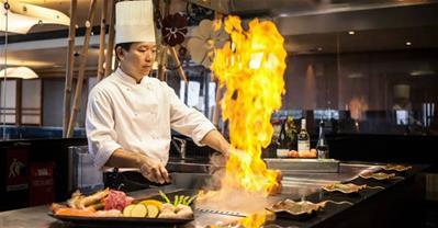 Teppanyaki - nghệ thuật đỉnh cao của ẩm thực Thế Giới