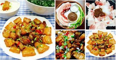 Thịt ba chỉ chưng mắm tép đơn giản ngon cơm cho bữa tối