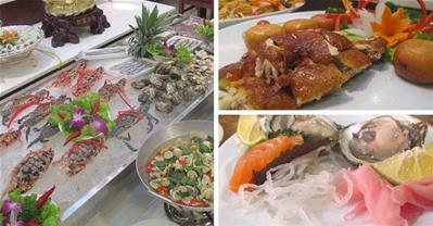 """""""Thử cảm giác lạ"""" với buffet xứ sở Bạch Dương"""