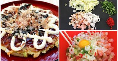 Thử làm bánh xèo kiểu Nhật thơm ngon, bắt mắt tại nhà
