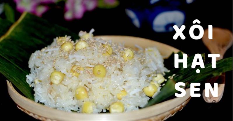 Tiết lộ cách nấu xôi hạt sen bằng nồi cơm điện đơn giản tại nhà
