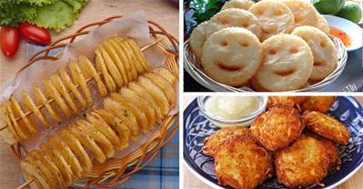 Tổng hợp các cách làm  bánh khoai tây ăn là nghiền