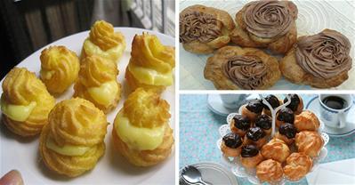 Tổng hợp các cách làm bánh su kem ngọt ngào