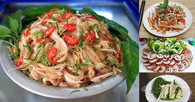 Tổng hợp các món ăn từ tai lợn tuyệt ngon, cực hấp dẫn