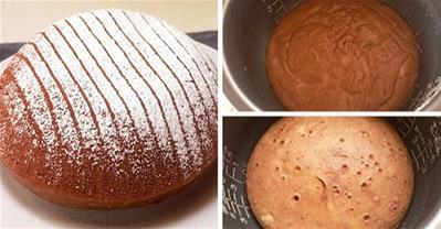 Tổng hợp cách làm bánh bằng nồi cơm điện cực đơn giản