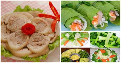 Tổng hợp những món ăn ngon chống ngấy ngày Tết