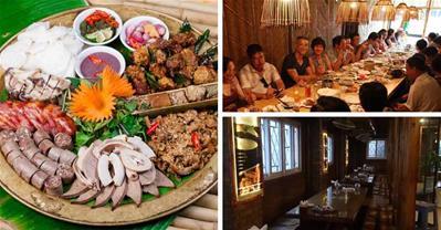 Top các nhà hàng chuyên đặc sản núi rừng tại Hà Nội