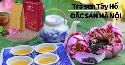 Trà sen Tây Hồ – Đặc sản trà Việt tặng sếp và khách nước ngoài