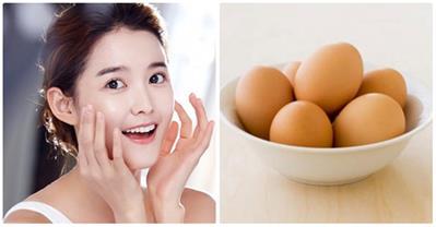 Trẻ hóa, săn chắc da hiệu quả từ 1 quả trứng gà