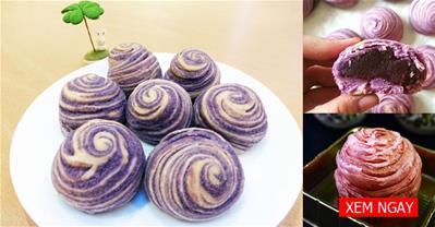 Trổ tài làm bánh trung thu ngàn lớp thơm ngon độc đáo