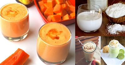 Tự làm 5 loại sữa tăng cân nhanh chóng cho người gầy