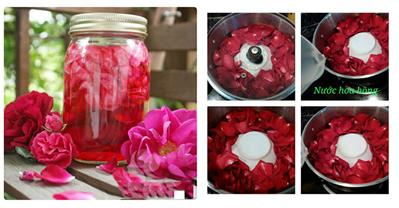 Tự làm nước hoa hồng tại nhà chỉ tốn vài chục nghìn