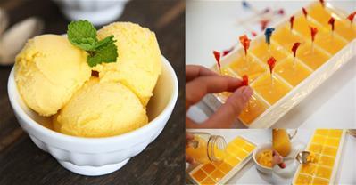 Xua tan nắng nóng với 2 cách làm kem dứa mát lạnh