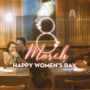 HAPPY WOMEN'S DAY - Dành yêu thương cho một nửa thế giới