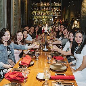Nhà hàng đặt tiệc Khai Xuân 2019