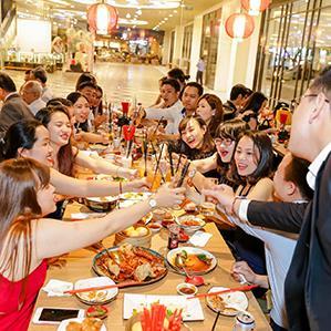 Nhà hàng phục vụ xuyên Tết 2020