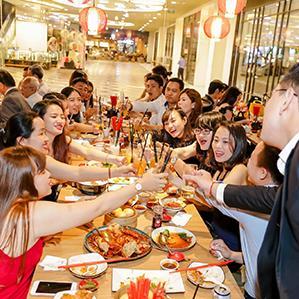 Nhà hàng trong Trung tâm thương mại ở Hà Nội