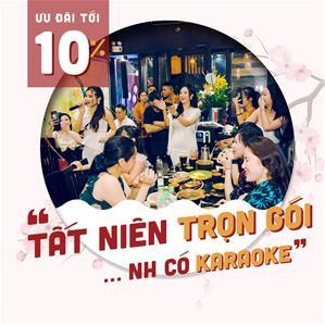 Tất niên trọn gói - Nhà hàng có Karaoke