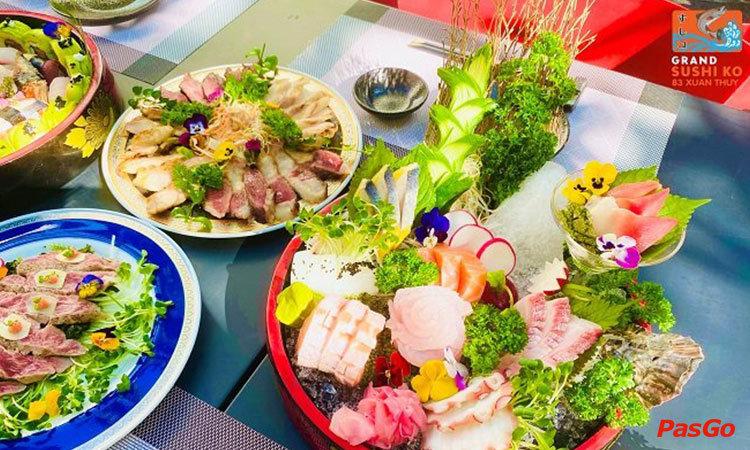 nha-hang-grand-sushi-ko-xuan-thuy-1