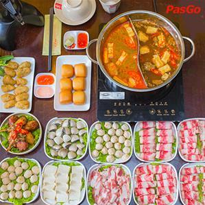 Buffet Cô Lô Nhuê - Lẩu Hải Sản 2 Ngăn