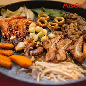 Nhà hàng Asian BBQ & Hotpot Mipec Long Biên
