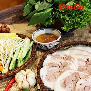 Nhà hàng bánh tráng thịt heo Phú Cường Yết Kiêu