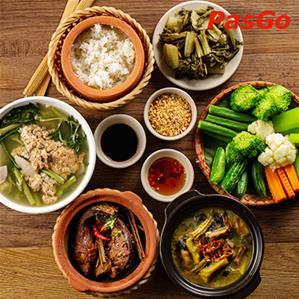 Nhà hàng Cơm Niêu Hoa Gạo Dịch Vọng Hậu